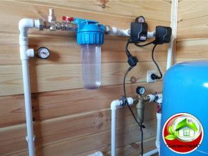Водоснабжение частного дома в Язвище